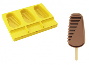 Acapulco Pavogel ice cream mold with 50 sticks by Pavoni Professional