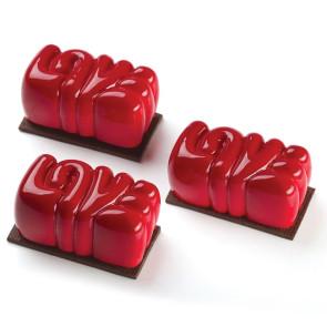Lovely: Stampo in silicone 3D monoporzione ANTONIO BACHOUR di Pavoni