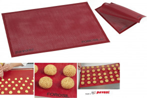 Pavoni micro-perforated silicone mat