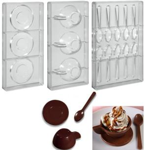 Stampo per cioccolato in policarbonato Servizio caffe
