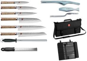 Valigetta completa di coltelli damasco Zwilling Miyabi 5000 MCD