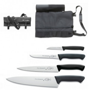 Chef's case complete with 4 Prodynamic Dick knives