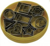 Set of Pastry cutters (24 pieces) geometric