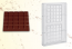 Polycarbonate mould for chocolate Tablet 200 g