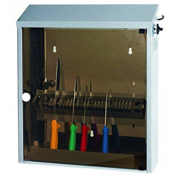 Sterilizzatore acciaio inox raggi UV-C