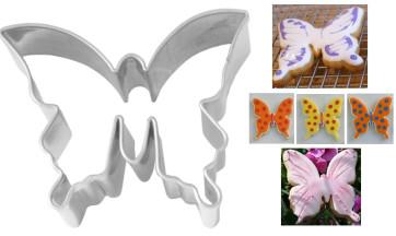 Moule découpe-pâte Papillon inox