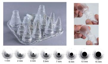 Set 8 bocchette assortite