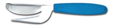 Squamatore inox con taglio