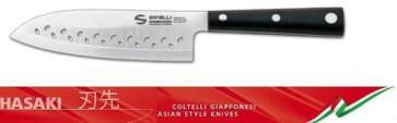 Couteau Professionnel Hasaki Santoku lame trouée de Sanelli Ambrogio