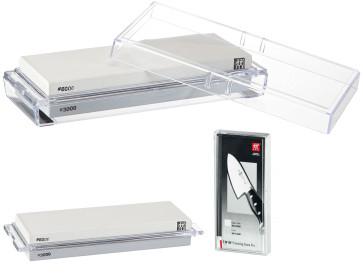 Pierre de finition TWIN Pro 3000 et 8000 Grain Aiguiseurs de couteaux