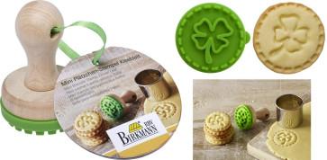 Stampino Timbro-biscotti Quadrifoglio