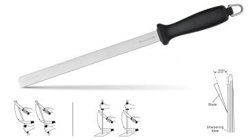 Aiguiseur de couteaux en acier au diamant de Wusthof