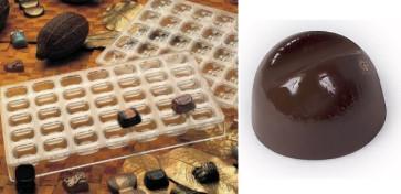 Stampo in policarbonato per cioccolatini Cercle