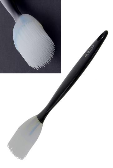 Pennello largo tondo in silicone di De Buyer
