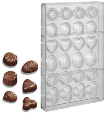 Moules pour chocolat en polycarbonate Pralines