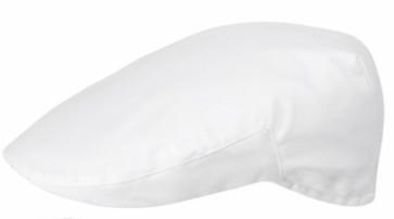 Coppola pour chef en 100% coton couleur blanche