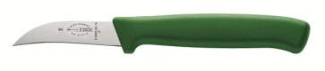 Coltello spelucchino curvo manico verde Dick Prodynamic