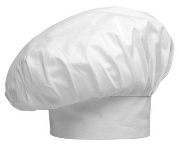 Chapeau Chef Hat Couleur de base Blanc