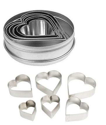 Découpe-pâte en forme de coeur