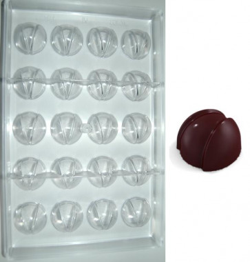 Stampo in policarbonato Granata di Cioccolato