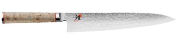 Coltello damasco 101 strati Gyutoh lama cm. 24 Serie Miyabi 5000 MCD