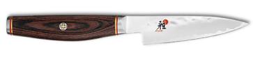 Couteau 3 couches Shoth lame cm. 9 martelée Série Miyabi 6000 MCT
