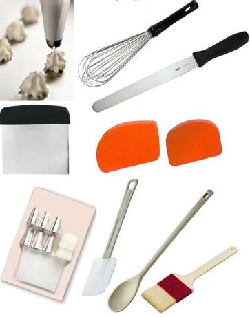 Kit de base 9 ustensiles - Essentiels pour la pâtisserie