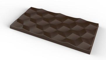 Stampo in policarbonato per cioccolato Tavoletta 70 grammi