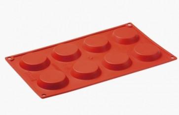 Moules en silicone multi-portions 8 tartelettes.
