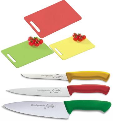 Set coltelli HACCP e Taglieri