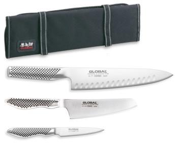 Sac porte-couteaux avec set de 3 couteaux Nouveau Series