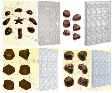 Stampi in policarbonato praline