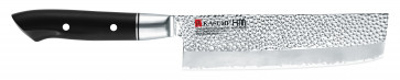 Couteau à légumes Nakiri Kasumi Série HM Hammered