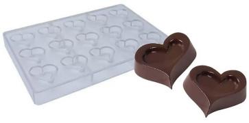 Stampo Per Cioccolatini in policarbonato Cuore S.Valentino