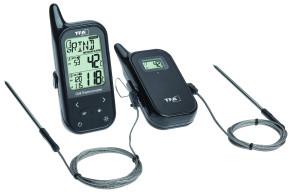 Thermomètre pour four et barbecue sans fil CHEF TWIN de TFA