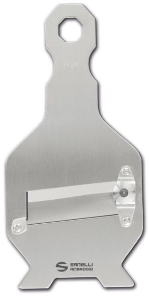 Mandoline à truffes en acier inoxydable avec lame lisse