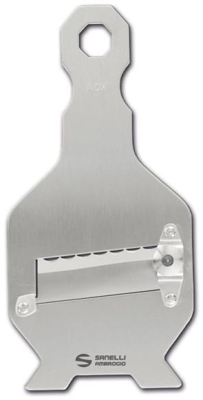 Mandoline à truffes en acier inoxydable avec lame ondulée