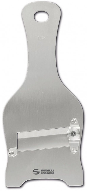 Mandoline à truffes en acier inoxydable avec lame lisse coffret individuel
