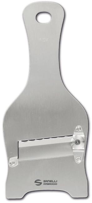Mandoline à truffes en acier inoxydable avec lame ondulée coffret individuel