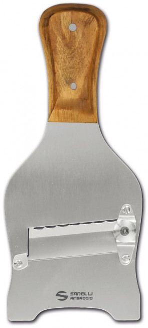 Mandoline à truffles in Olive lame ondulée de Sanelli Ambrogio