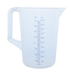 Carafe graduée manche fermé 2 litres