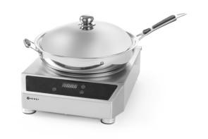 Plaque de cuisson à induction complète avec Wok
