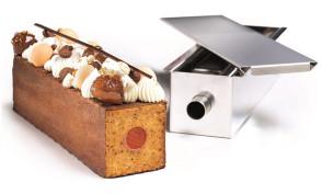 Moule à gâteau de voyage géométrique - gâteau avec insert 900 ml. par Martellato