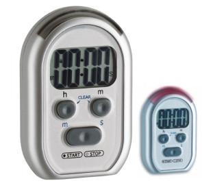 Timer elettronico e cronometro con segnale acustico