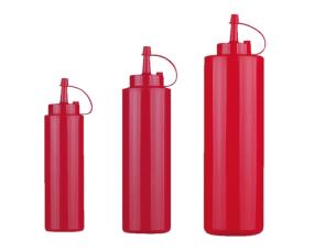 Flacon doseur en polyéthylène - Rouge