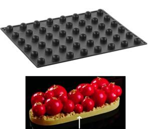 Moule en silicone 48 Sphère tridimensionnelle D. 20 mm. de Pavoni Professional