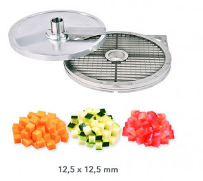 Kit d'accessoires cubes 12,5 x 12,5 mm. Coupe-légumes Kronen KG 201