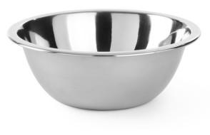 Bol à pâte à fond plat en acier inoxydable