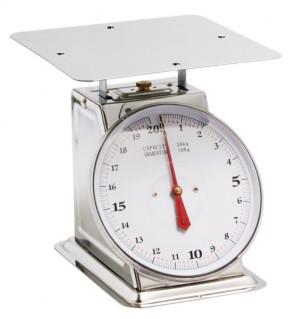 Bilancia meccanica inox Peso Massimo 20 kg.