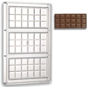 Stampo in policarbonato Barretta di cioccolato 100 grammi